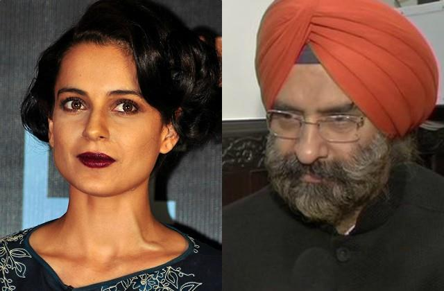 dsgmc committee sent legal notice to kangana for disputed remarks