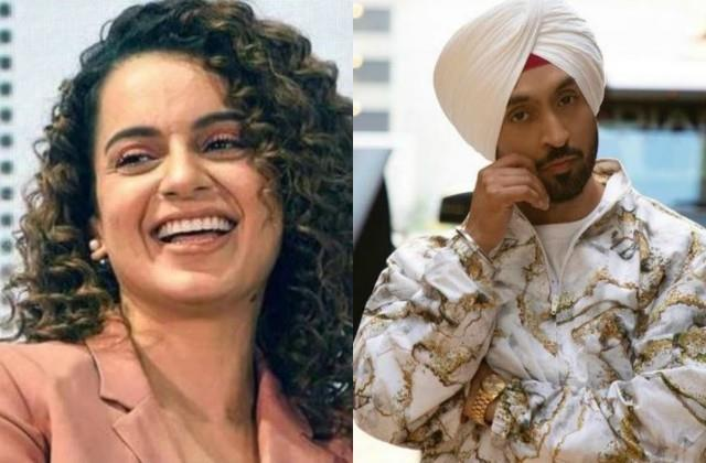 diljit dosanjh reply after kangana ranaut ask diljit kitthe aa