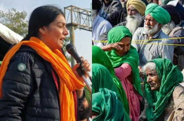 singer rupinder handa reach delhi in support of farmers protest
