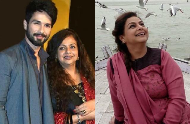 shahid kapoor wishes birthday to his mother neelima azim