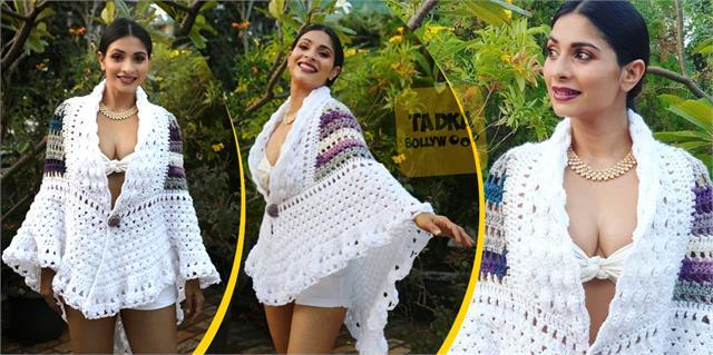 kajol sister tanisha mukherjee glamours pictures goes viral