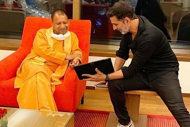 akshay kumar meets cm yogi adityanath