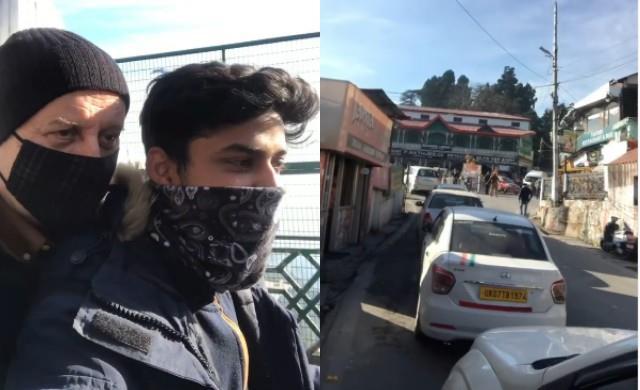 anupam kher stuck in mussoorie traffic jam video viral