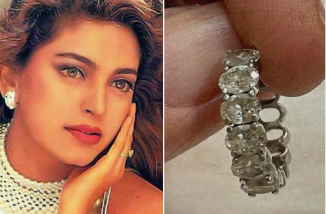 juhi chawla s diamond earring missing at airport