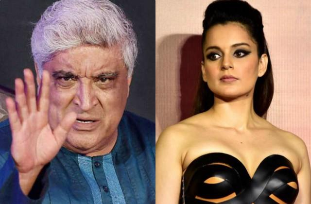 javed akhtar lodges statement against kangana in defamation case