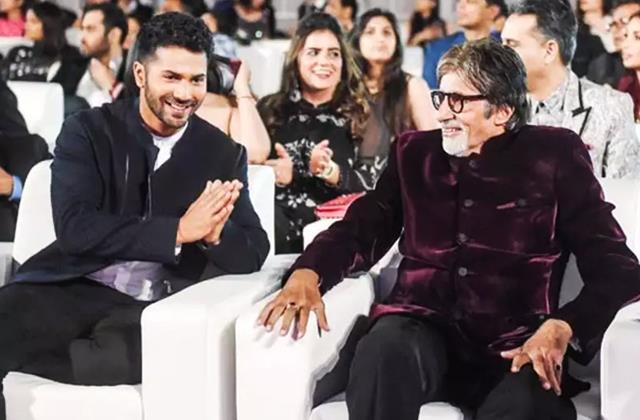 varun dhawan say amitabh bachchan call him everyday during covid positive