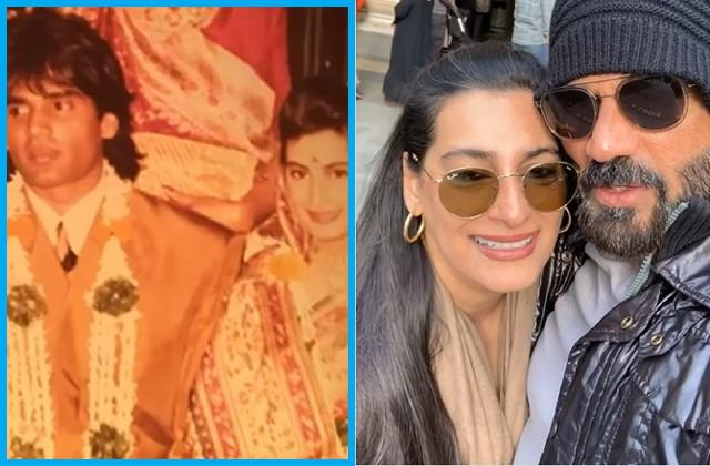sunil shetty shares video on 38th marriage anniversary with wife mana shetty