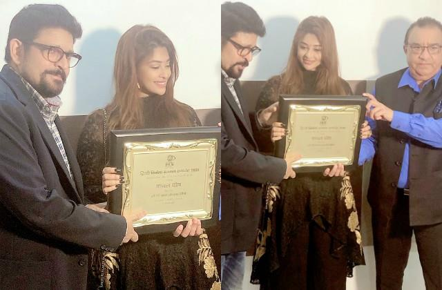 payal ghosh became the most promising newcomer of 2020