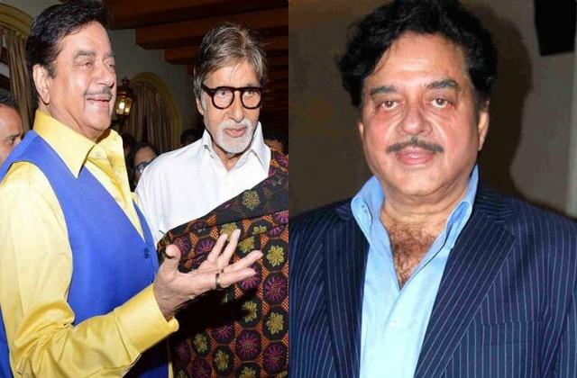 on shatrughan sinha birthday know his relations with amitabh bachchan