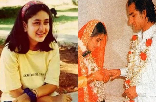 when kareena kapoor congratulated saif ali khan and amrita in their wedding