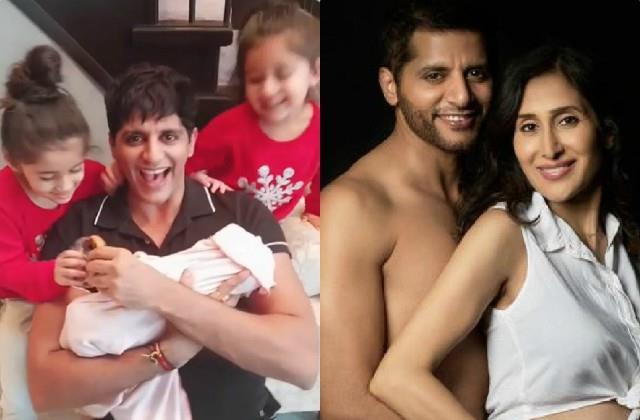 karanvir bohra and teejay sidhu karanvir became parents for the second time