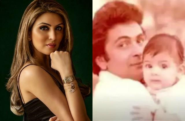 rishi kapoor daughter riddhima kapoor shares childhood photo with actor
