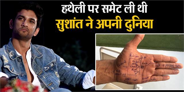 abhishek kapoor share sushant singh rajput hand picture