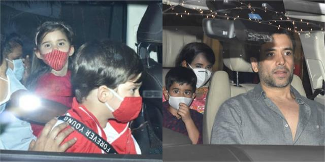 yash roohi laksshya attend rani mukerji daughter adira birthday