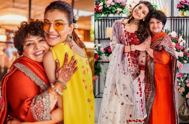 kaja aggarwal wishes birthday to mother suman aggarwal