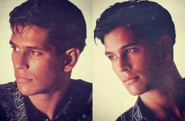 milind soman shares his throwback photos