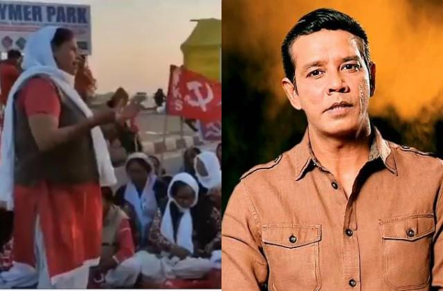 anoop soni furious over singing of pm modi death song in kisan movement