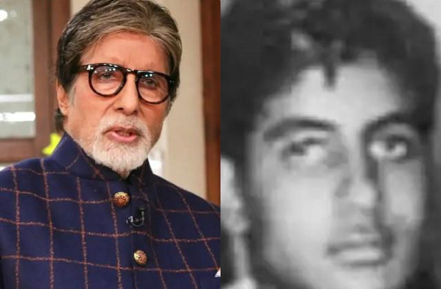 amitabh bachchan share throwback photo
