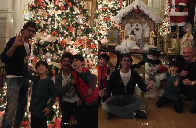 hrithik roshan mother pinkie roshan shared christmas throwback photos
