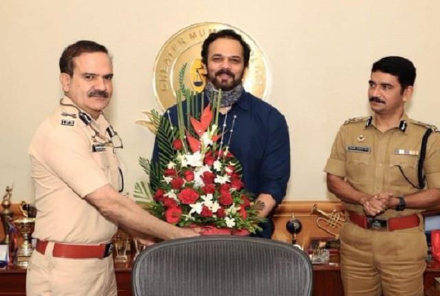 mumbai police called rohit shetty asli dilwale