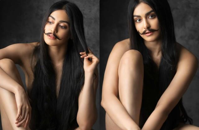 after milind soman adah sharma shares her clothless photos