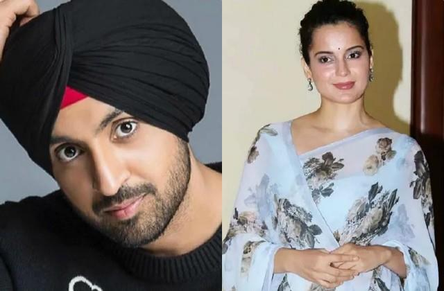 diljit dosanjh attacks on kangana ranaut for her tweet
