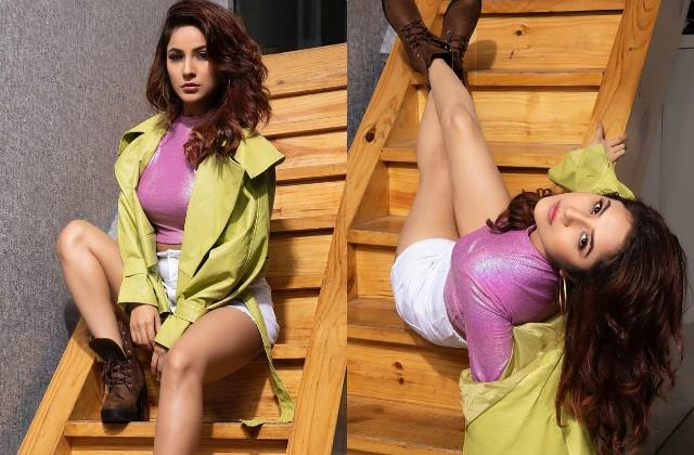 shehnaaz gill shares hot photos
