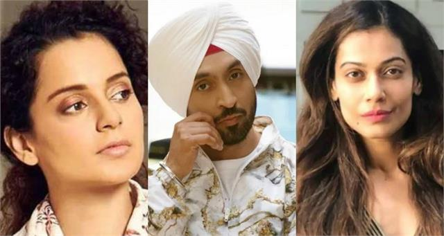diljit dosanjh target kangana and payal in latest video
