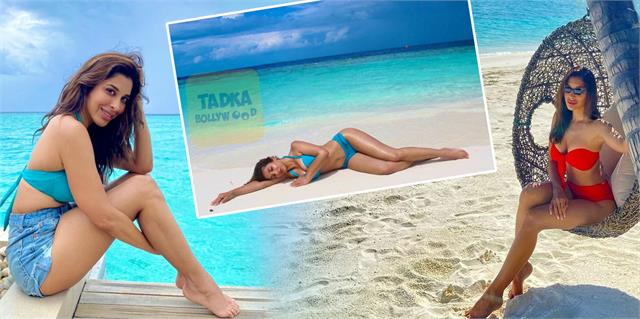 sophie choudry shares her bold photos from maldives