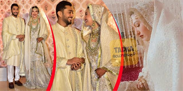 gauhar khan and zaid darbar nikah ceremony