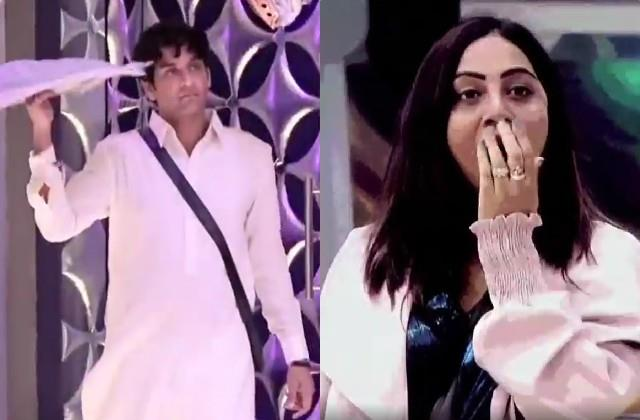 vikas gupta re enter the bigg boss 14 arshi khan shocked to see him