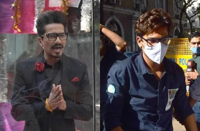 haarsh limbachiyaa take jibe on ncb raid in bigg boss 14