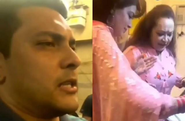 aditya narayan gives threat to wife shweta aggarwal video viral