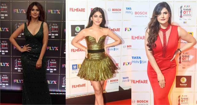 jennifer to saiee these actress attends filmfare ott awards 2020