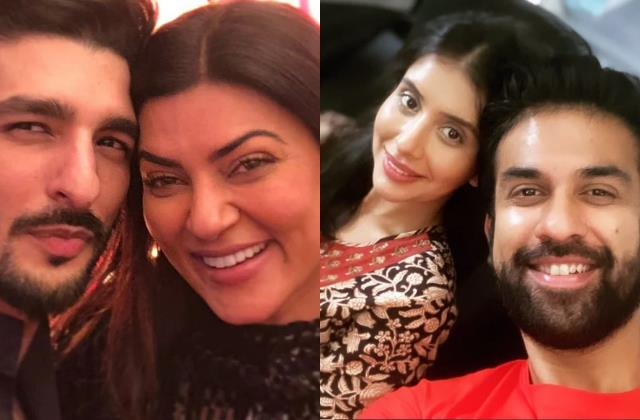 sushmita sen sister in law charu called actress boyfriend rohman shawl jiju