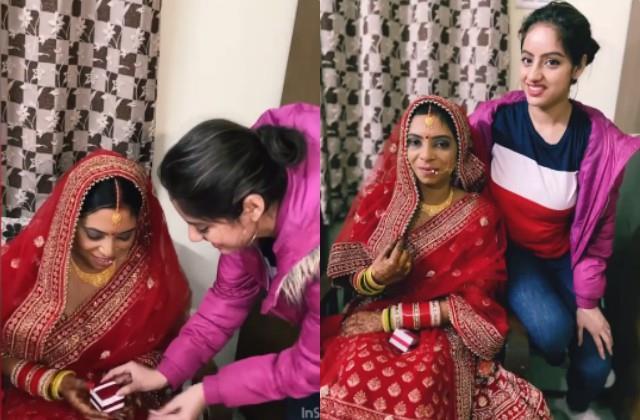 deepika singh gave a special gift to her bhabhi in muh dikhai