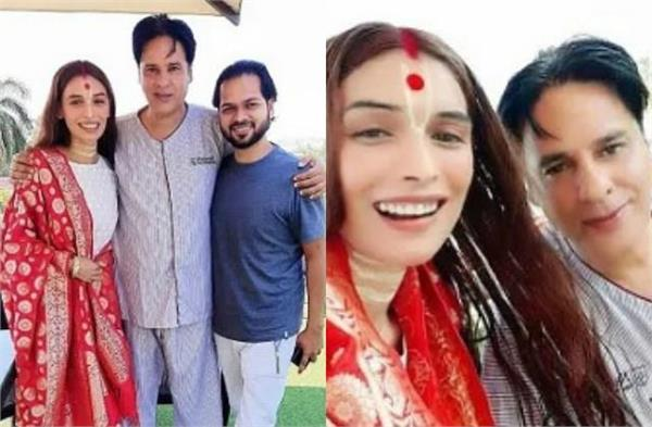 rahul roy share his video with sister and confirm his health recovery