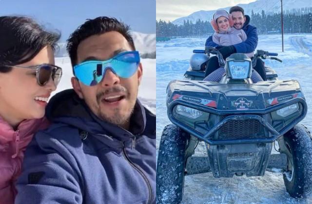 aditya narayan shares lovely photos from honeymoon with wife shweta