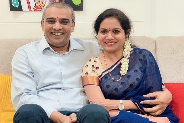 singer sunitha got engaged with businessman ram veerapaneni