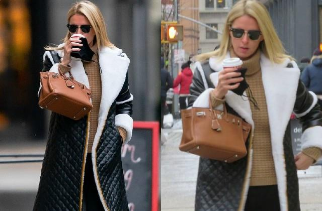 nicky hilton spotted on new york streets