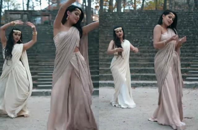 youtuber manpreet toor dances on hardy sandhu song  titliaan