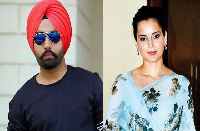 ammy virk sargun mehta angry on kangana ranaut for remark on farmers protest
