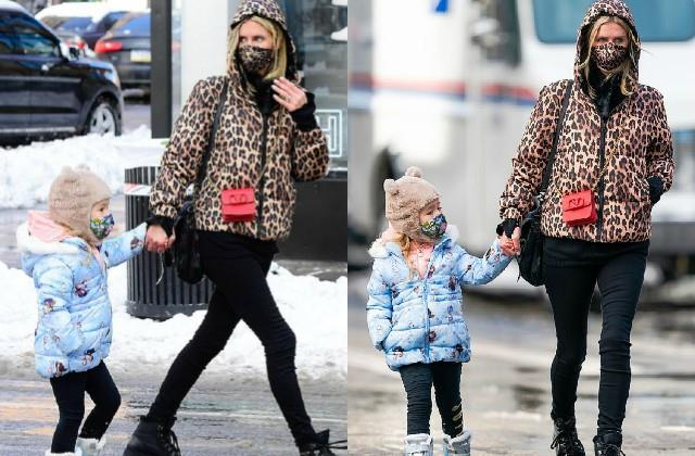 nicky hilton spotted with daughter lily grace on new york streets