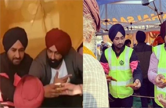tarsem jassar and ranjit bawa served the langar