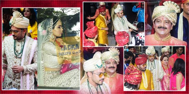 glimpses from aditya narayan and shweta agarwal wedding