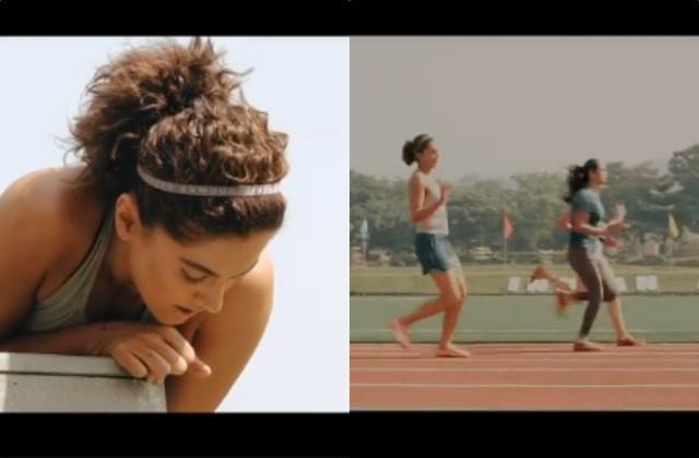 taapsee pannu finish athletics training for film  rashmi rocket