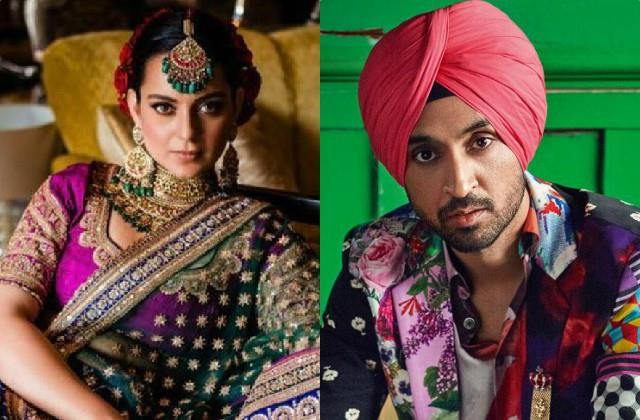 diljit gave a befitting reply to the user who advised about kangana