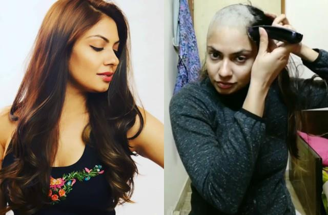 leja leja re  fame nina sarkar shaved her head
