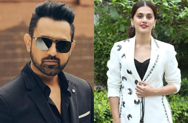 gippy slam on bollywood for not support farmers protest tapsee pannu reply