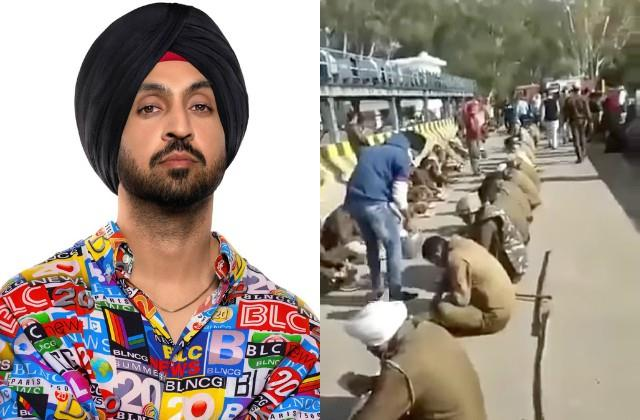 diljit dosanjh share photos of farmers movement from singhu border